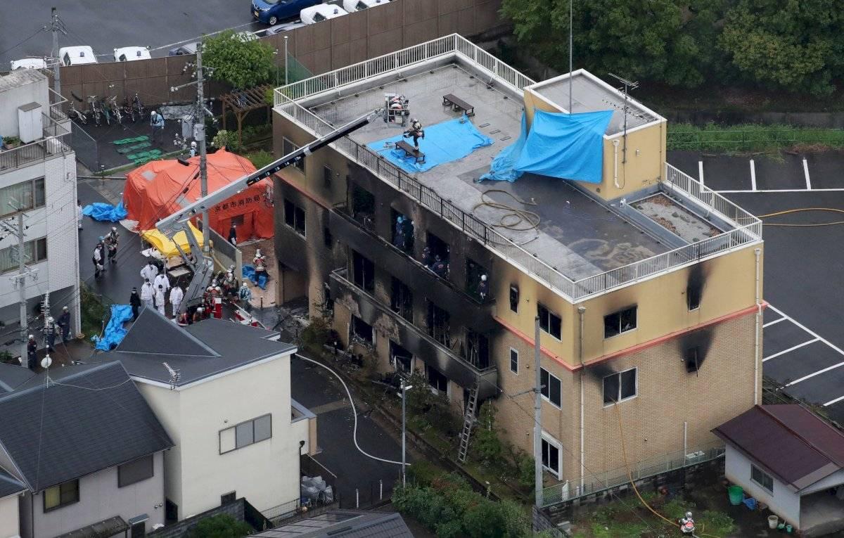 Japón: Asciende a 33 muertos y decenas de heridos por incendio provocado EFE