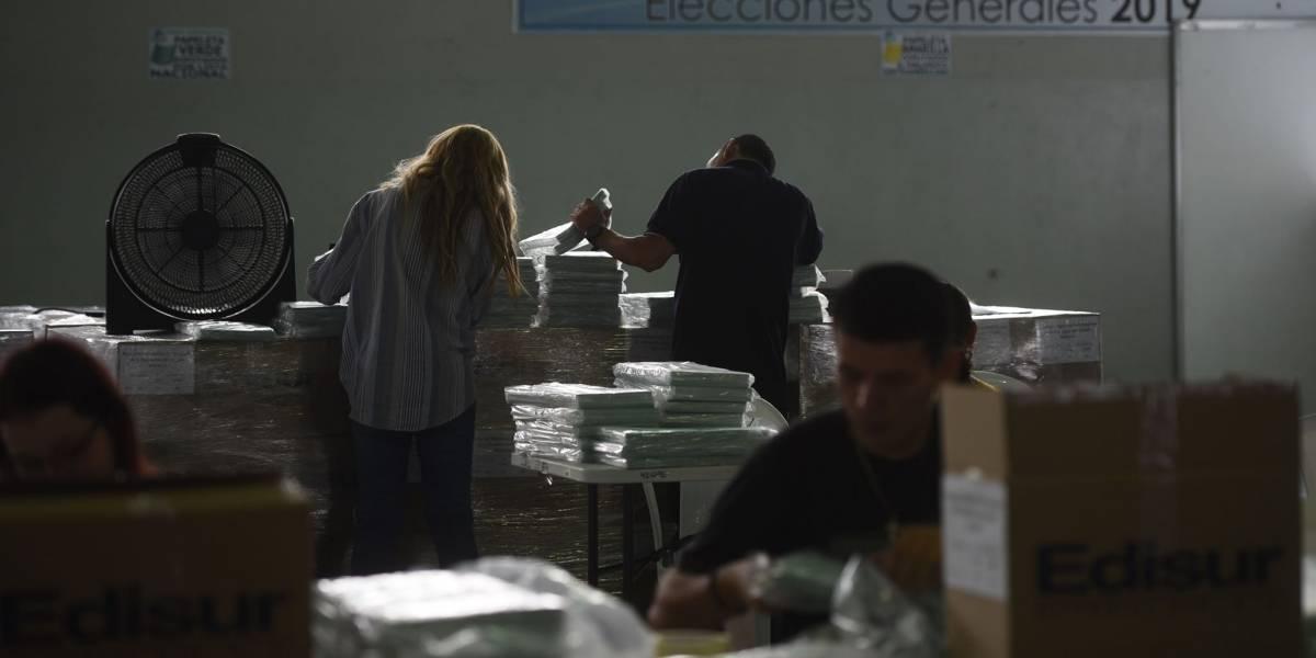 En cinco municipios se repetirán las elecciones con papeletas celestes