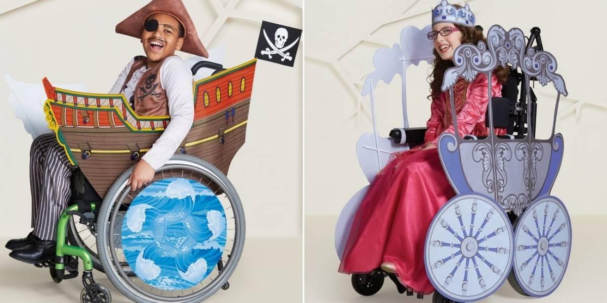 Marca cria fantasias de Halloween para crianças com deficiência