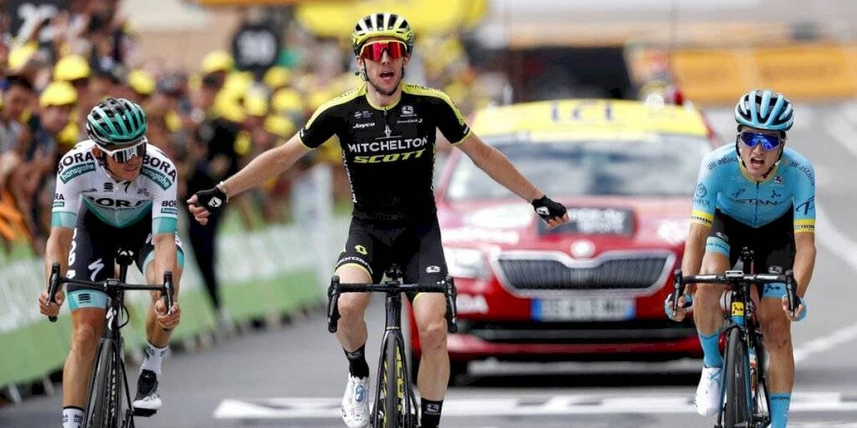 Tour de Francia: Yates gana en una insípida etapa de montaña y Alaphilippe sigue de líder