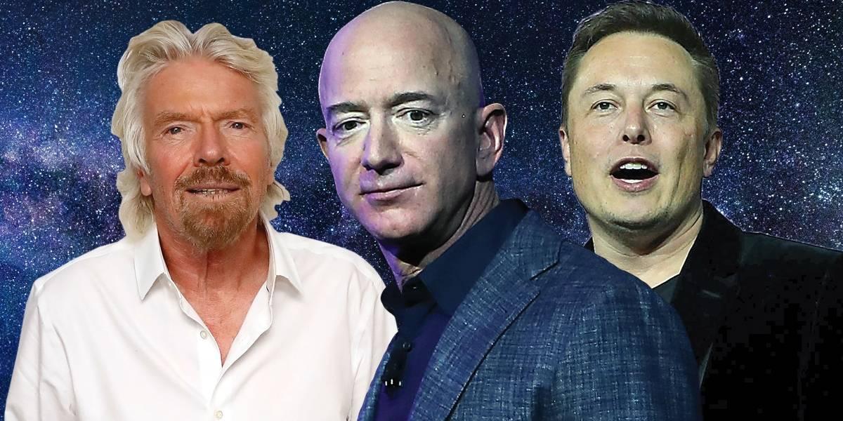 Conheça três bilionários 'lunáticos' que disputam a exploração do espaço