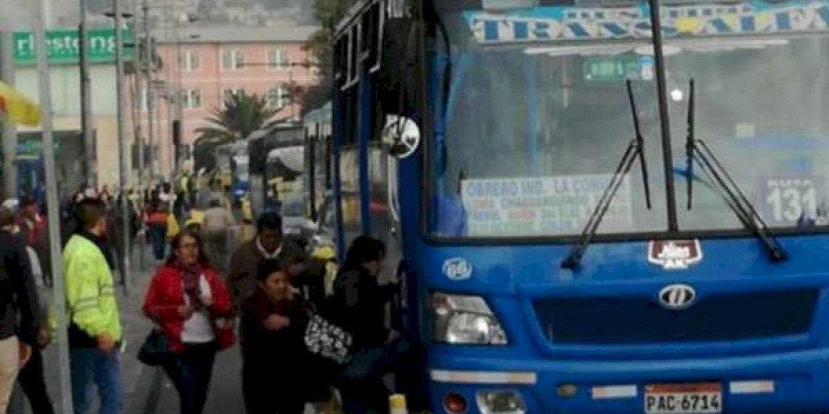 Municipio de Quito exhorta a los alimentadores del transporte metropolitano que normalicen sus actividades