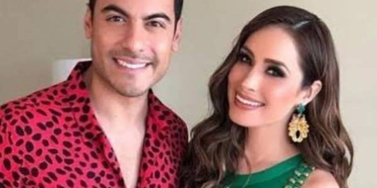 Carlos Rivera se casó con Cynthia Rodríguez en secreto