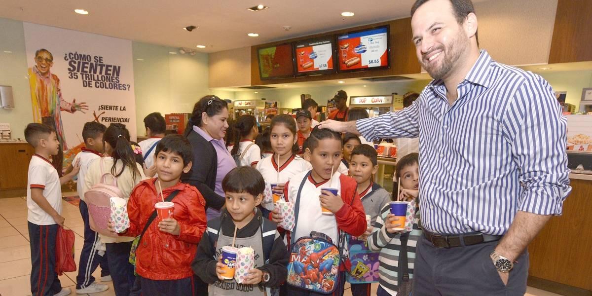 Guayaquil: Llevan a los niños gratis al cine por las fiestas de la ciudad