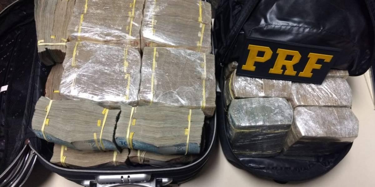 Polícia prende dupla com R$ 1,5 milhão em espécie na Fernão Dias