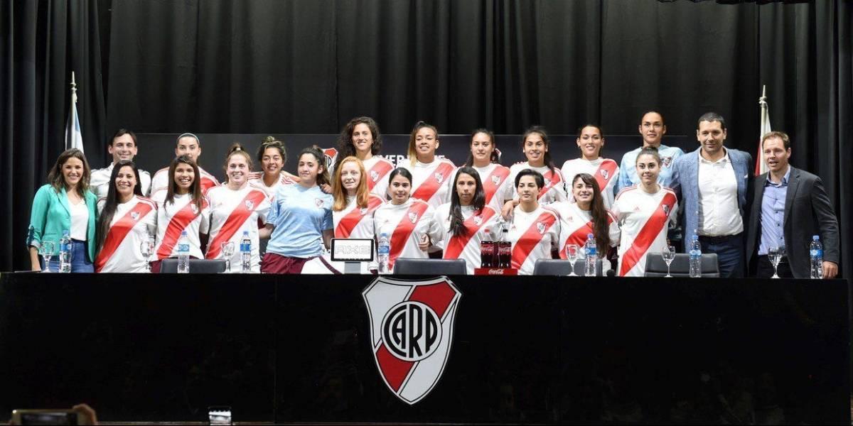 """Camila Pavez se ilusiona con hacer historia en River Plate: """"Primero quiero ser titular y luego goleadora"""""""