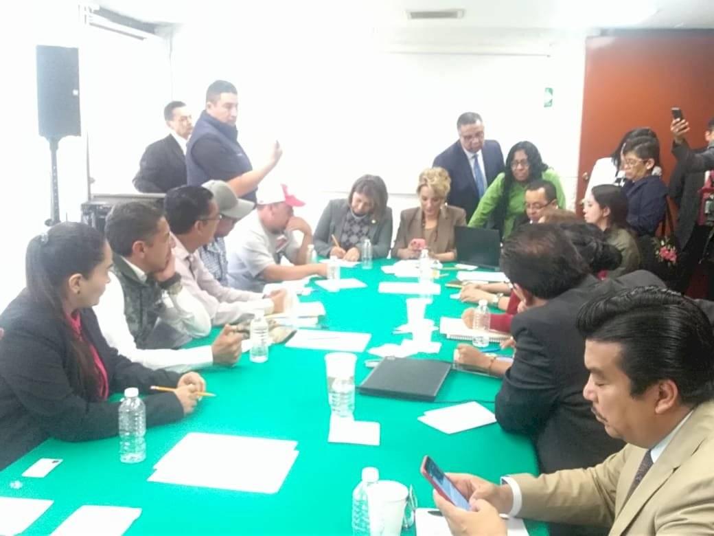 Las negociaciones buscaban liberar los accesos. Foto: Cámara de Diputados.