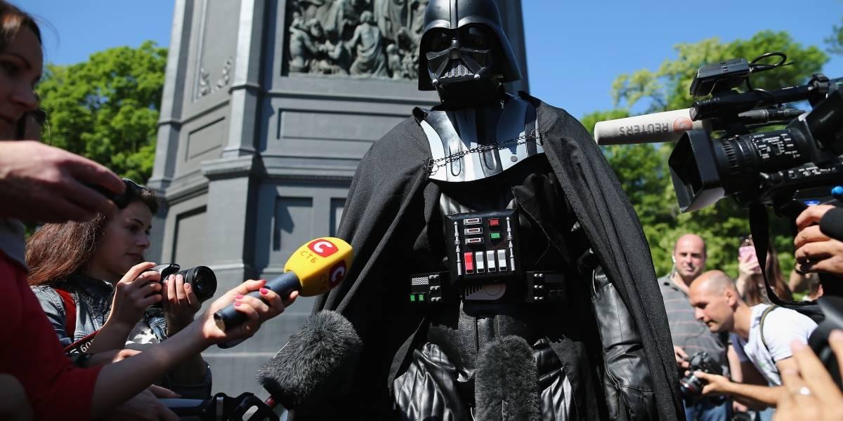 Darth Vader vuelve a postularse en las elecciones parlamentarias de Ucrania