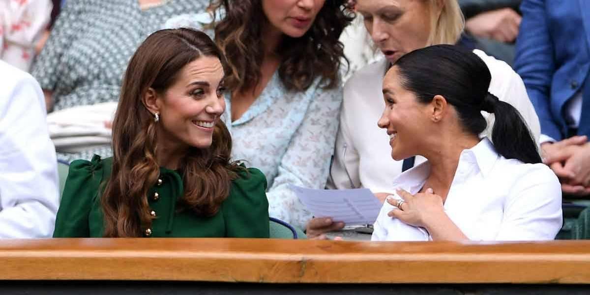 Kate Middleton e Meghan Markle se esforçam para serem amigas, diz jornalista
