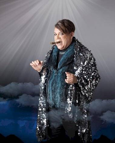 Kenny Grullón en el papel de Herodes Fuente externa