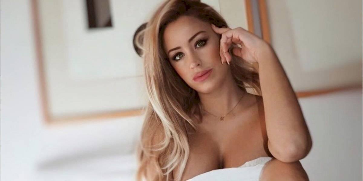"""Laura Gadea, ex de """"El Chiringuito"""", causa furor con un diminuto bikini"""