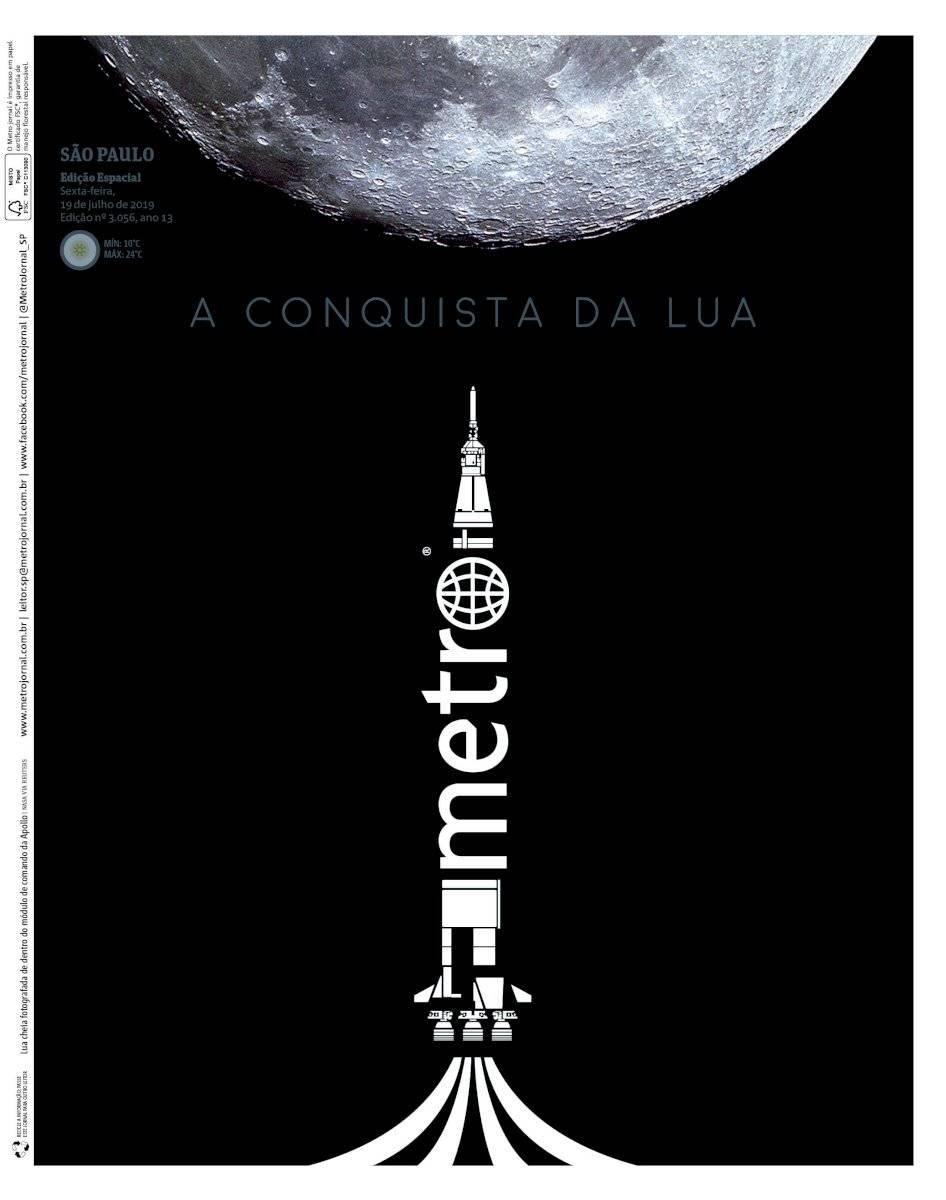 Metro na Lua capa