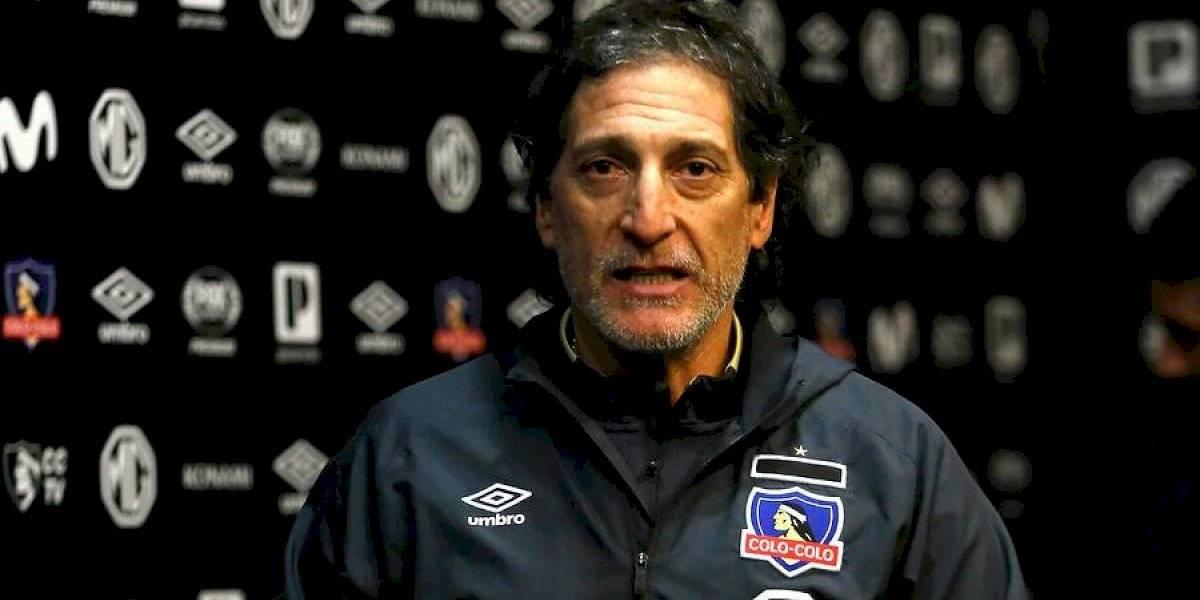 """Salas descarta nuevos fichajes y mete presión: """"No hay ninguna excusa, en Colo Colo no existe nada más que ganar"""""""