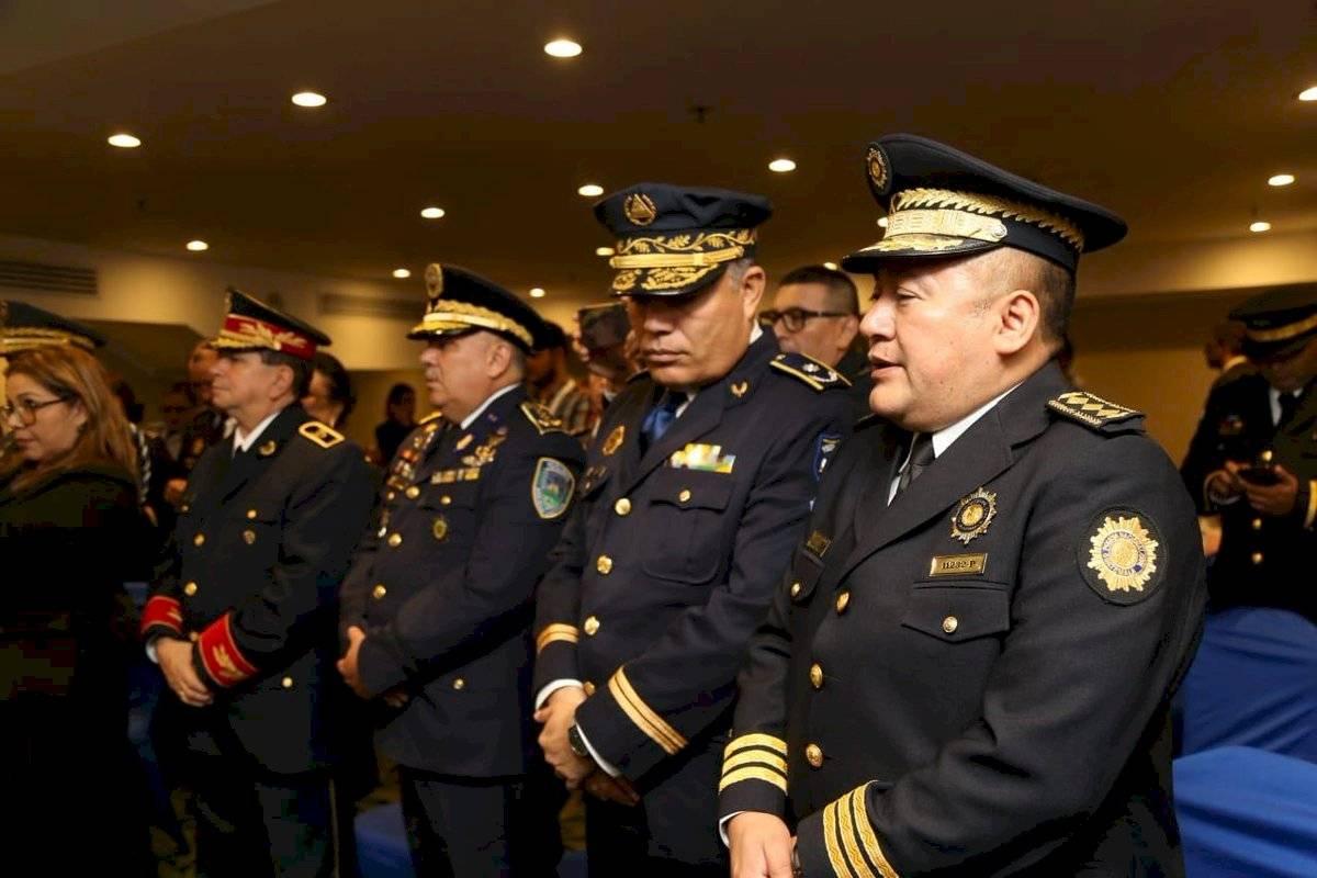 reunión de policías del SICA
