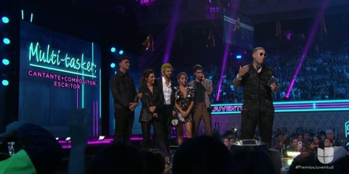 Daddy Yankee pide la renuncia del gobernador en Premios Juventud