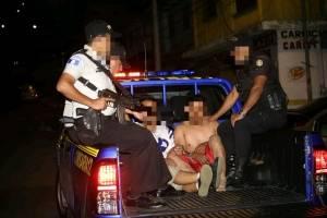 sicarios capturados en zona 18