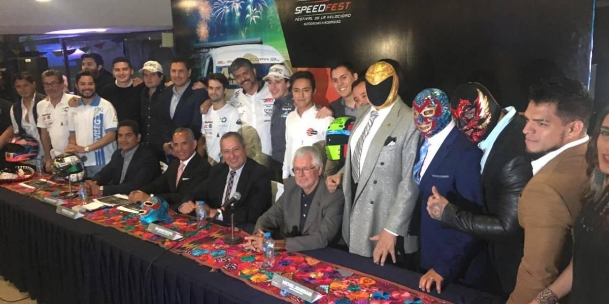 Presentan segunda edición del Speed Fest, festival de la velocidad