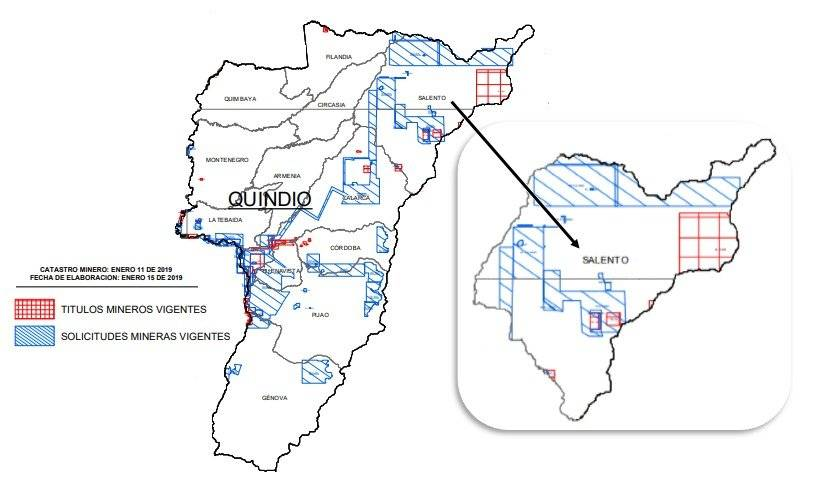 Mapa minero