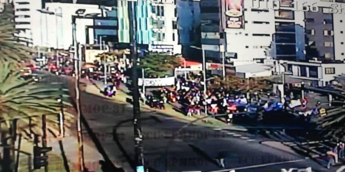 Quito: Vías cerradas marchas este 18 de julio de 2019