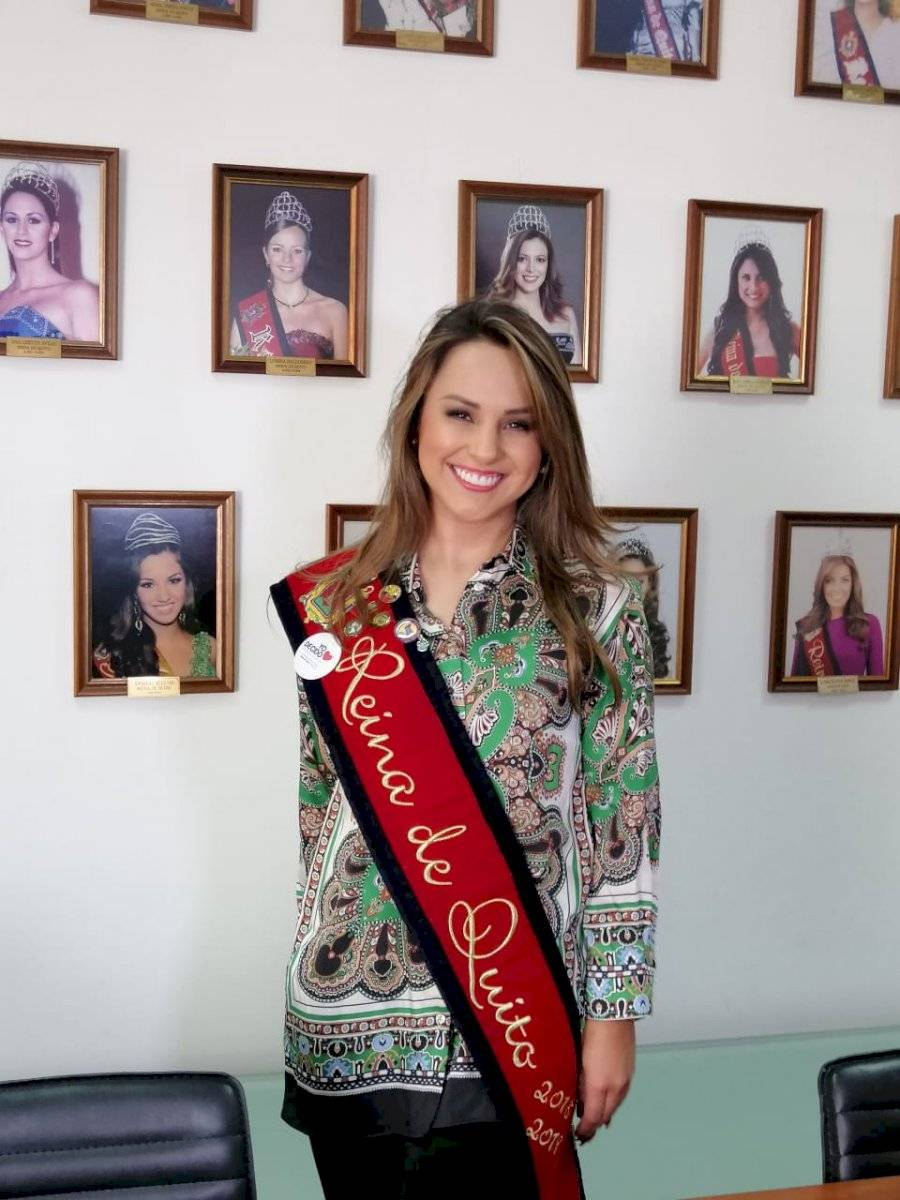 Daniela Almeida, actual Reina de Quito Metro Ecuador