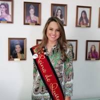 Daniela Almeida, actual Reina de Quito