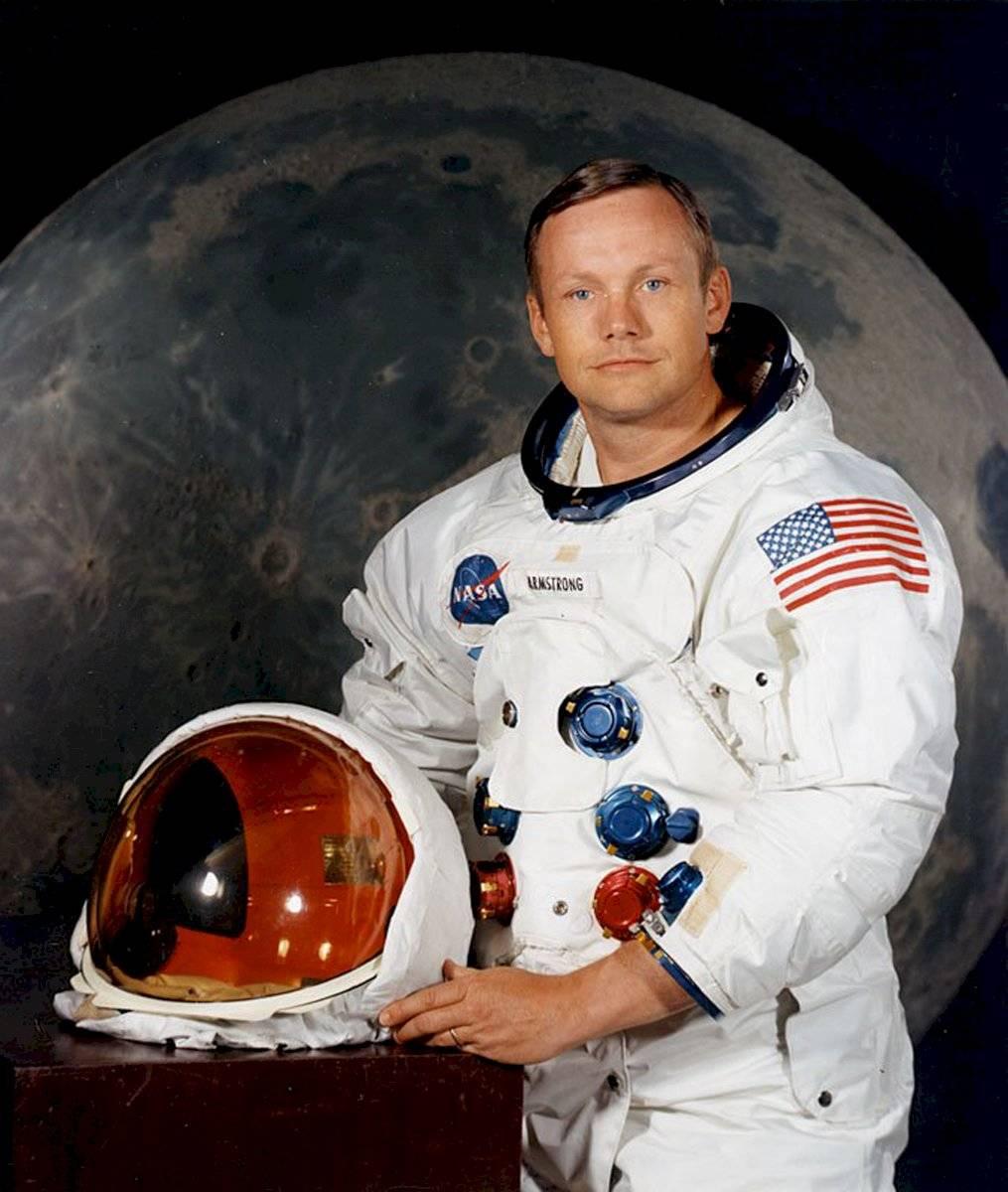 Neil Armstrong - astronauta que llegó a la luna