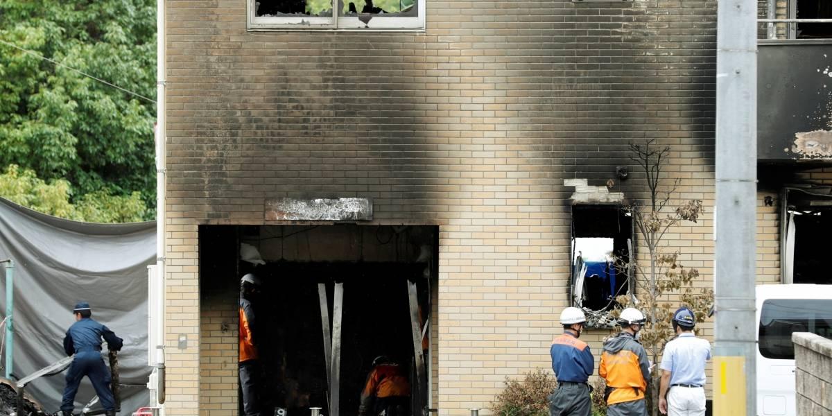 Suspeito de incendiar estúdio no Japão reclamava que tinha sido plagiado