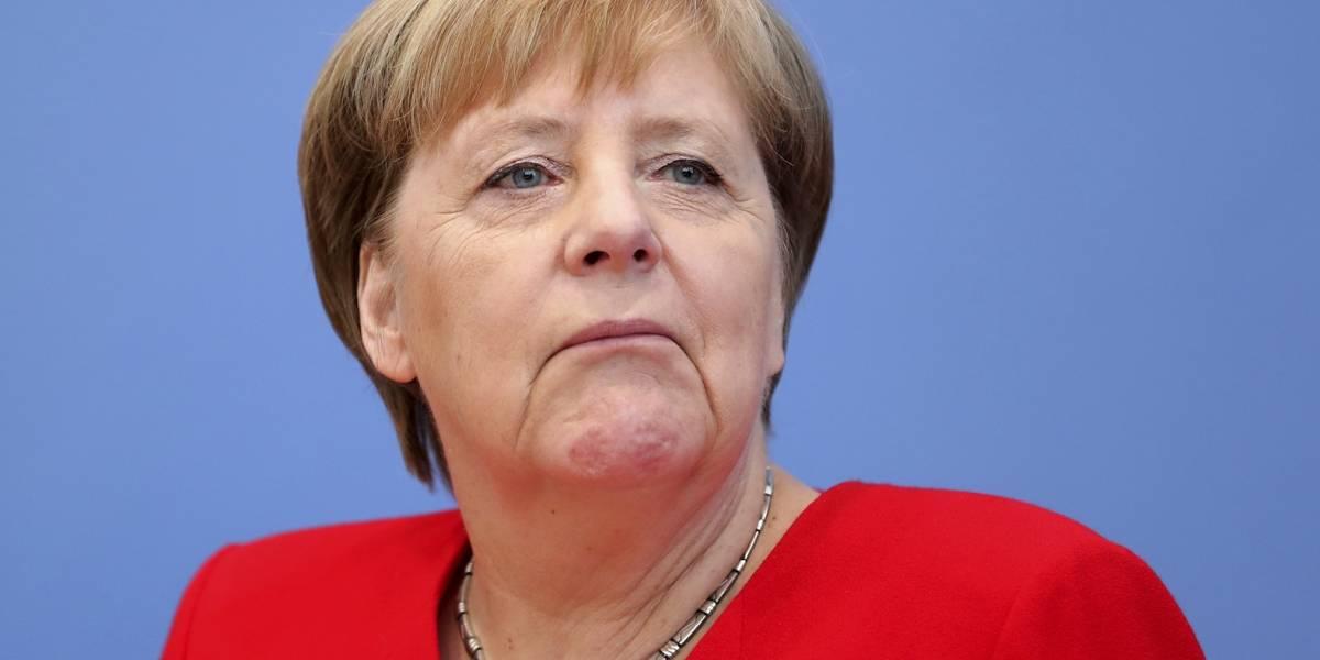 """Merkel insiste en que se siente """"bien"""", convencida de que completará mandato"""