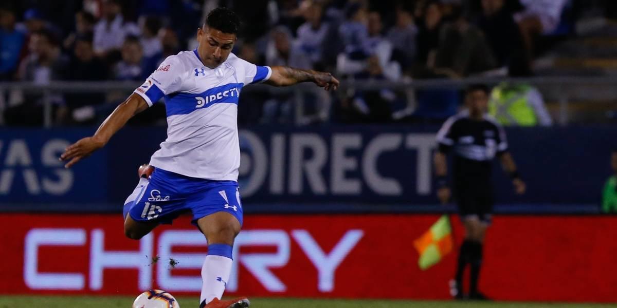 Jeisson Vargas destaca en la probable formación que prepara la UC ante Santiago Morning