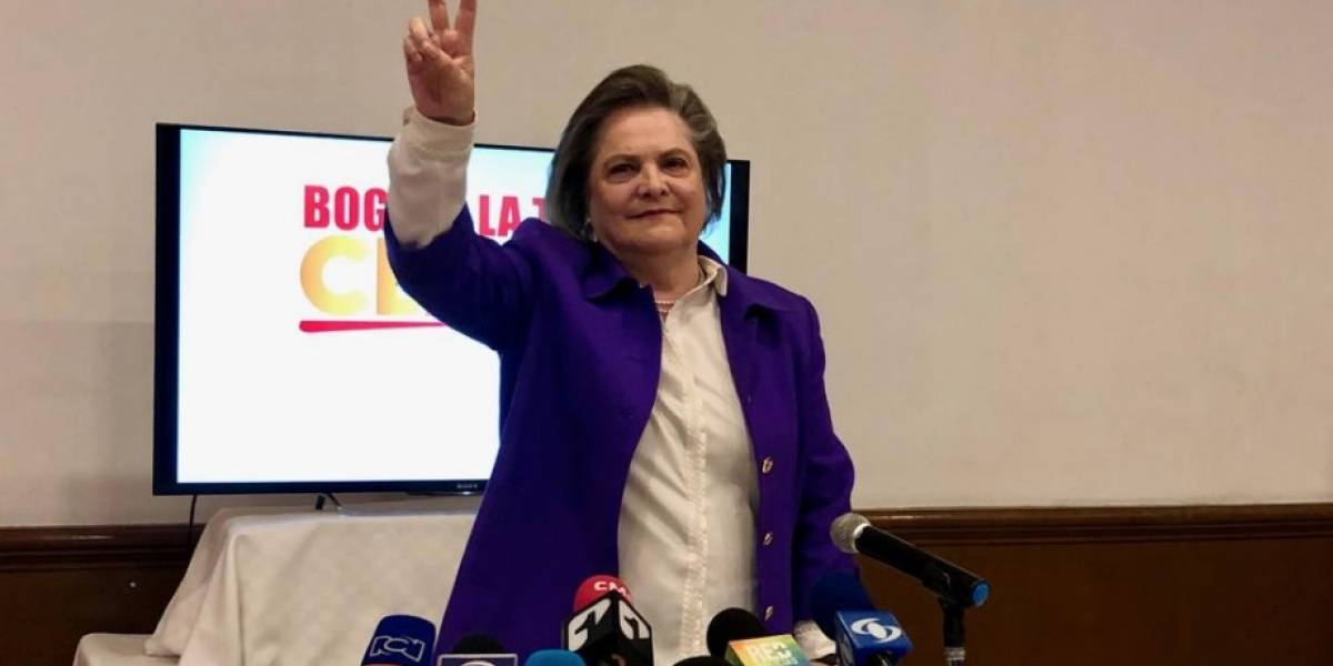 Clara López se baja de las elecciones a la Alcaldía de Bogotá