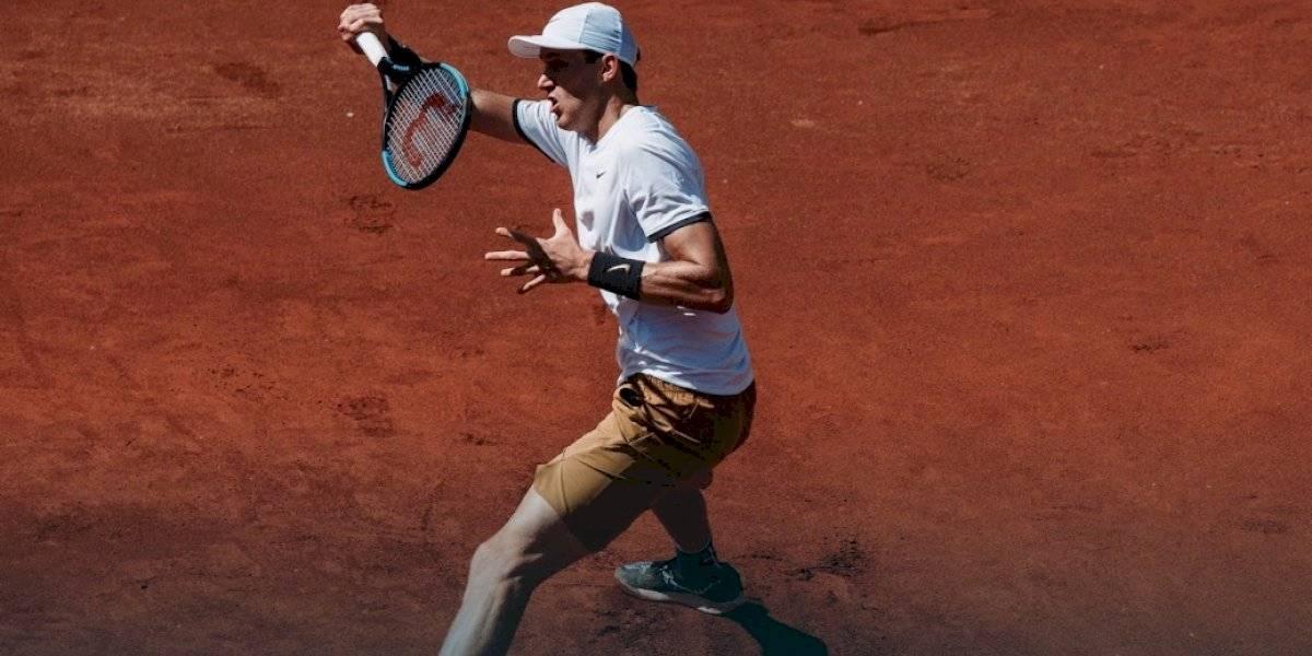 Nicolás Jarry aplastó a Federico Delbonis y avanzó a la final del ATP de Bastad