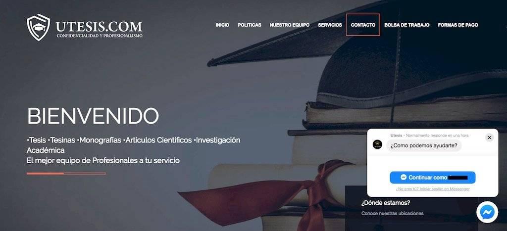 Ofrecen servicio para elaborar tesis. Foto: Publinews