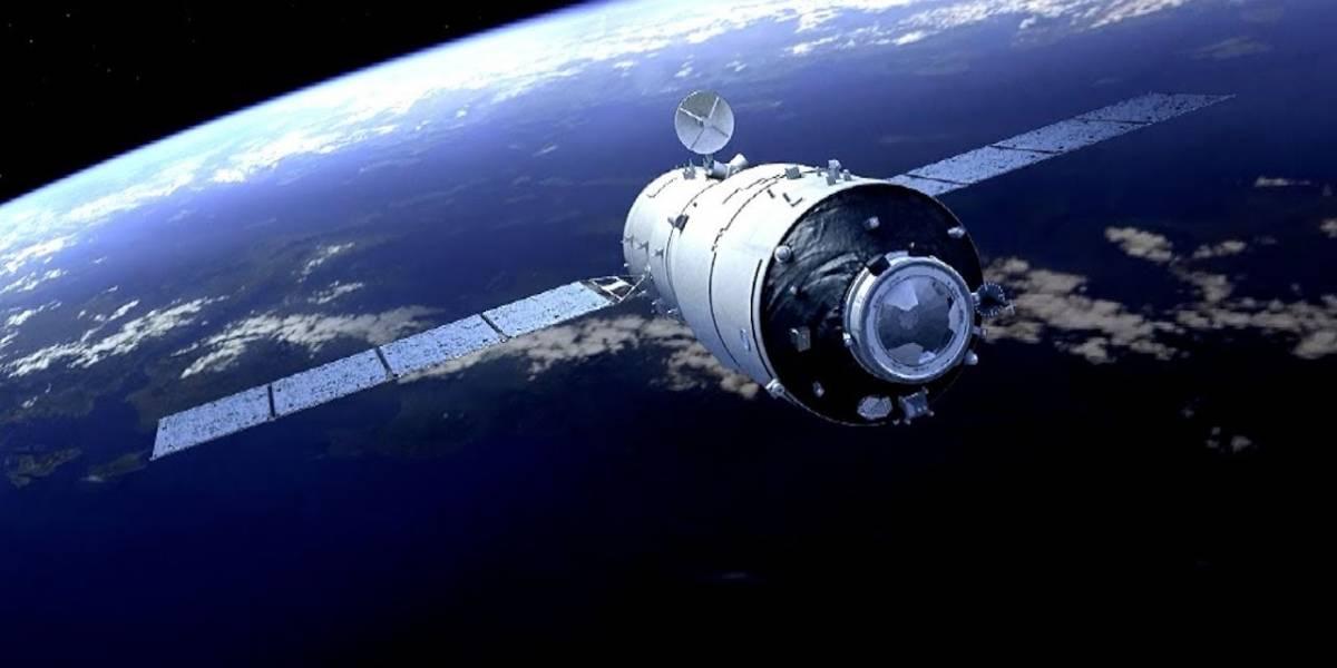 Estación espacial china Tiangong-2 podría caer en Chile