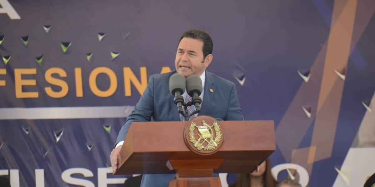 Presidente Morales asegura que Casa Blanca reconoce avances en combate a la delincuencia