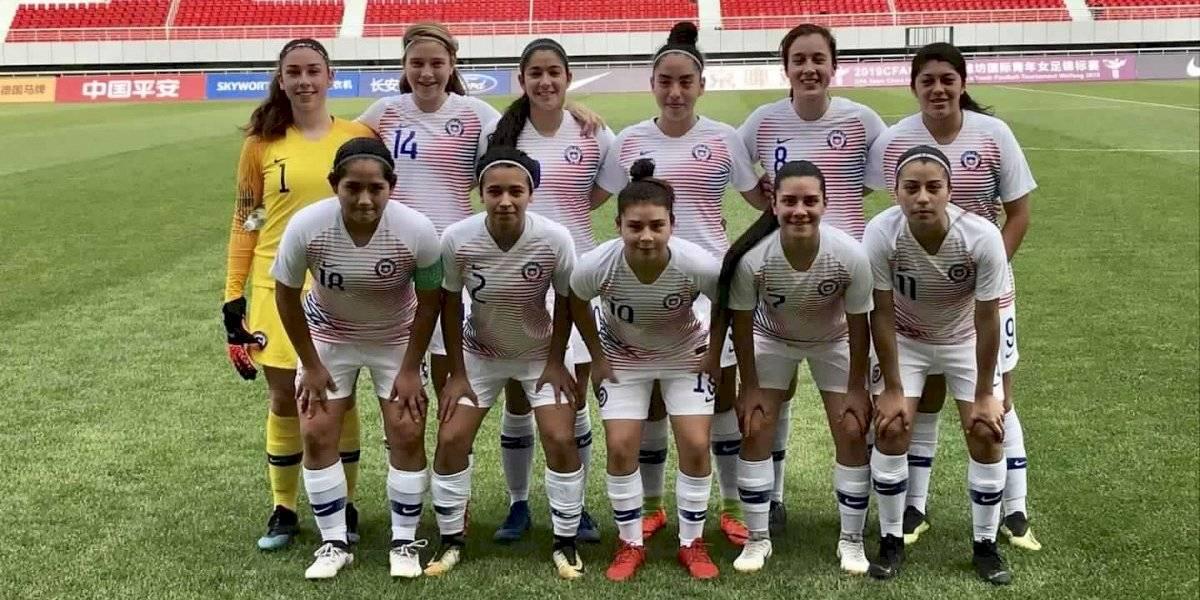 La Roja femenina Sub 17 rescató un valioso empate ante Tailandia en cuadrangular jugado en China