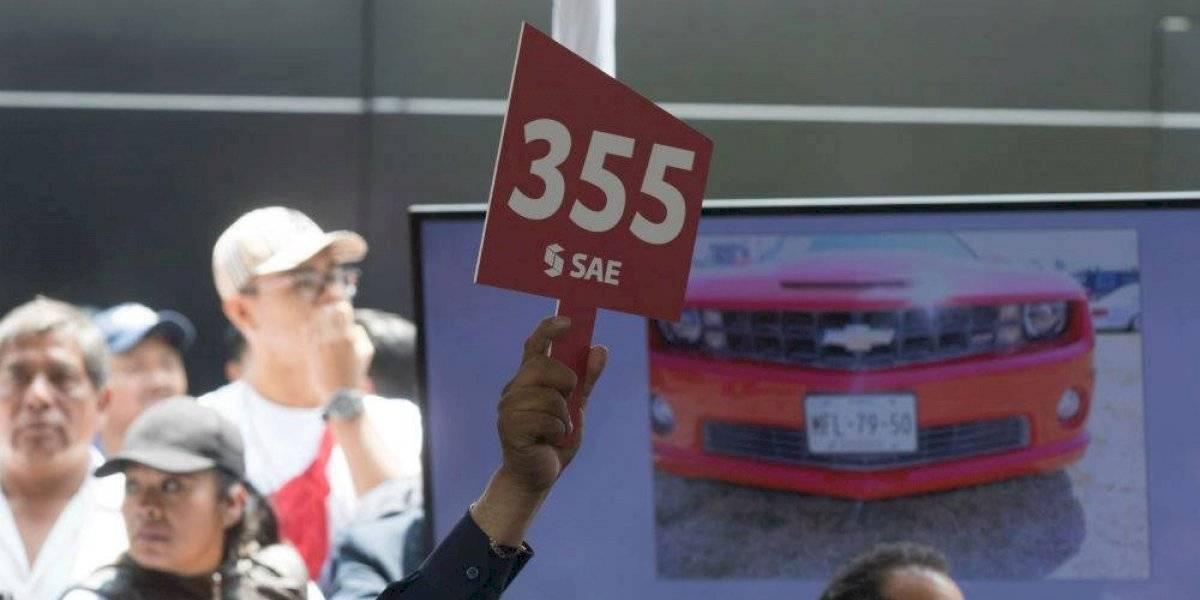 Senado subastará automóviles el próximo 8 de agosto