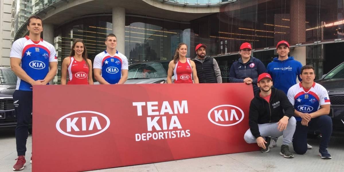 Kia despide a sus deportistas que parten a los Panamericanos de Lima