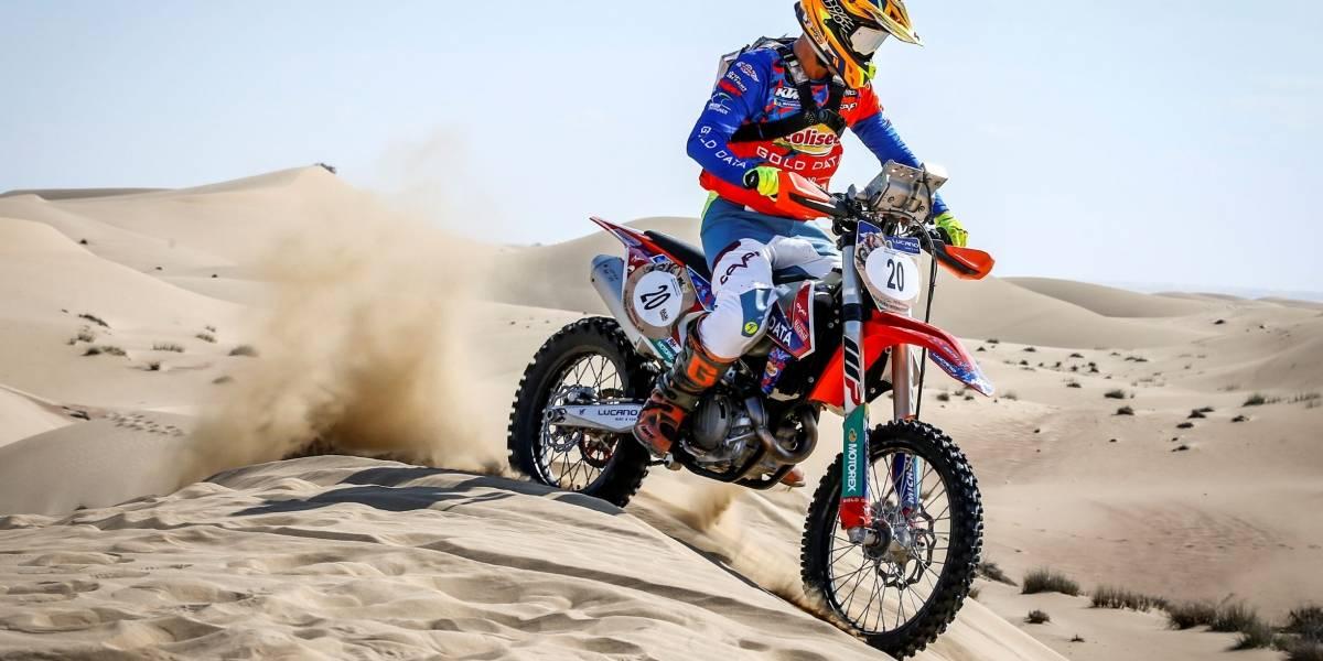 Con el título mundial junior en mente, Tomás de Gavardo corre en España