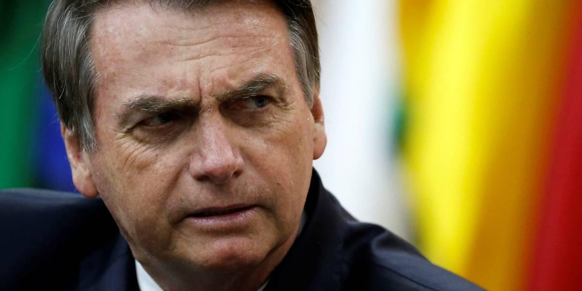Bolsonaro diz que jornalista não precisa se preocupar com deportação