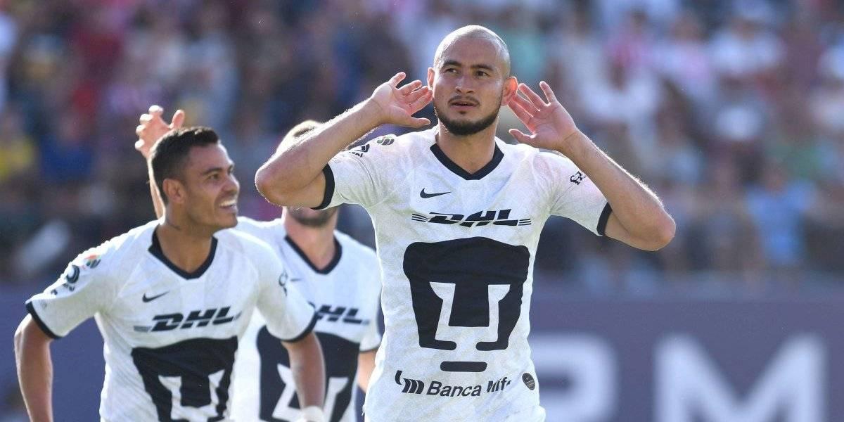 Pumas le da su 'bienvenida' al Atlético San Luis