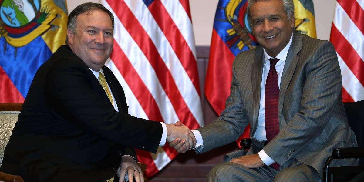 20 de Julio: Presidente Lenín Moreno recibió al secretario de Estado de Estados Unidos, Mike Pompeo