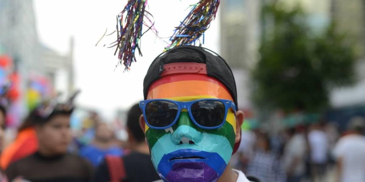 FOTO. Arcoíris aparece durante el Desfile de la Diversidad Sexual