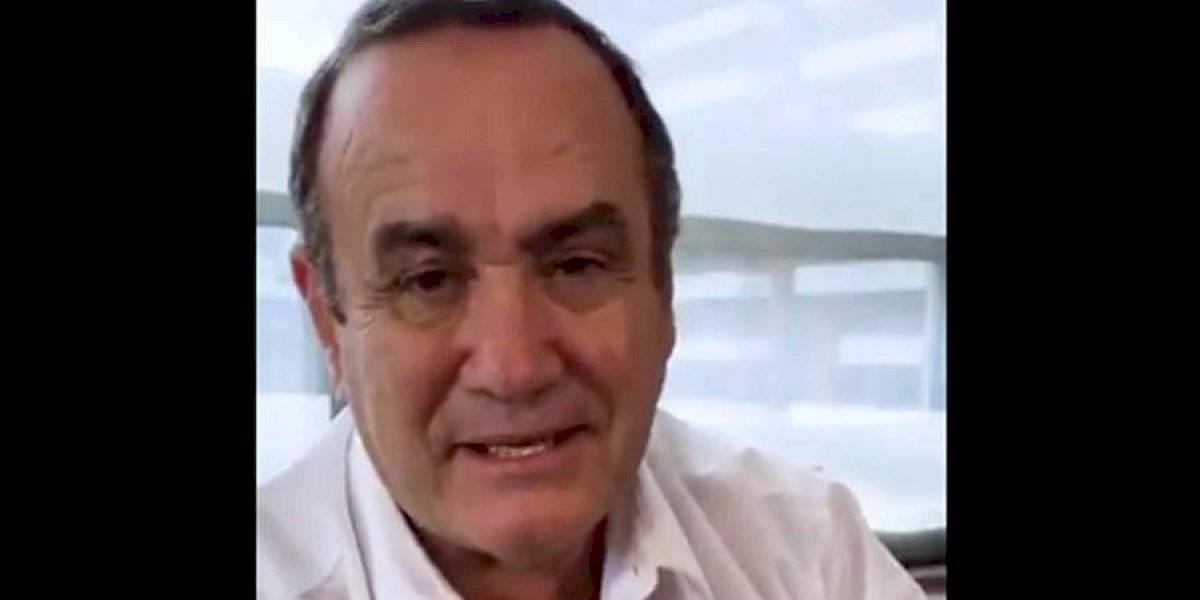 """Alejandro Giammattei: """"Vamos a fomentar a las mipymes en el país"""""""