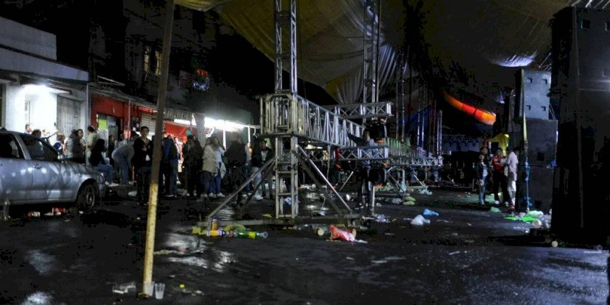 Sonidero en Peñón de los Baños termina en balacera; hay al menos 4 muertos
