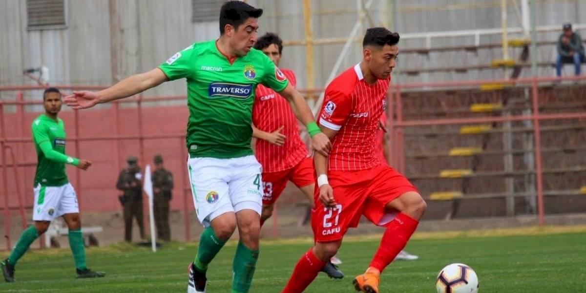 Audax Italiano derrotó a San Felipe y se metió en cuartos de final de la Copa Chile