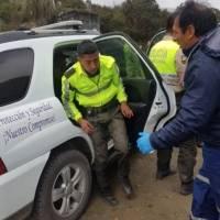 """María Paula Romo reveló """"evidencias"""" de los agresores en la zona de Río Blanco, Azuay"""