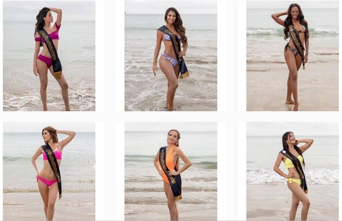 Candidatas a Miss Ecuador