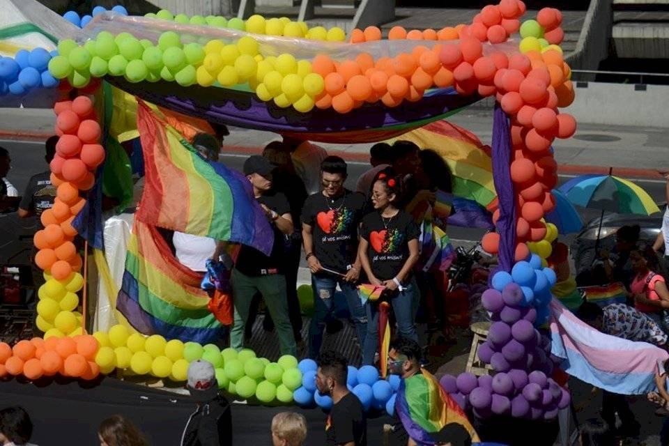 XIX Desfile de la Diversidad Sexual e Identidad de Género. Foto: Omar Solís