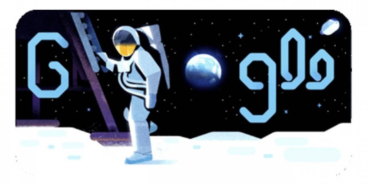 VIDEO. Google rinde homenaje al 50 aniversario de alunizaje con un doodle
