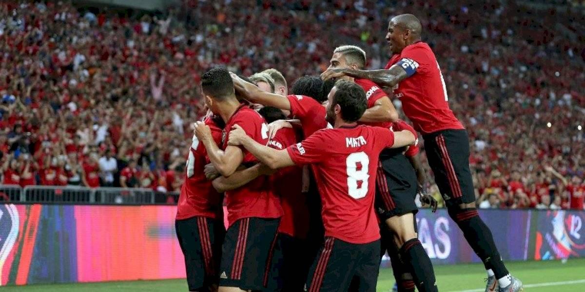 Sin la presencia de Alexis Sánchez: Manchester United derrotó con gol de un juvenil al Inter de Milán